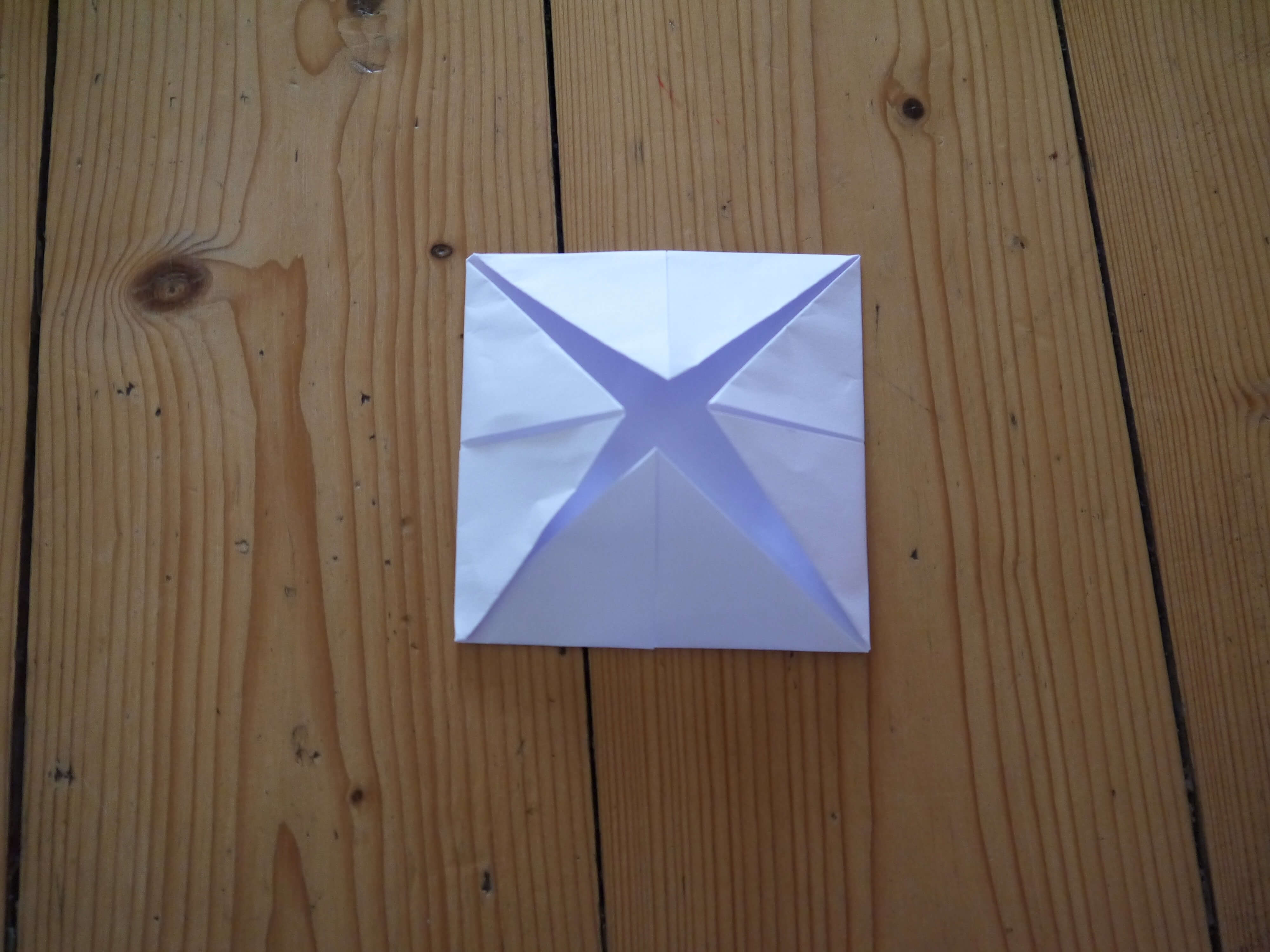 Second folded corners